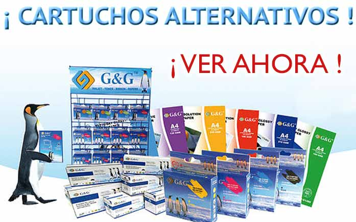 CARTUCHOS ALTERNATIVOS GYG