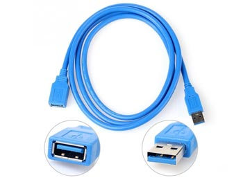 CABLE USB EXTENSION 1.5M 3.0