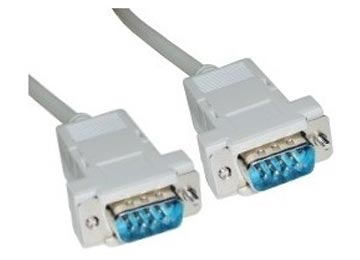 CABLE DB9 M A DB9 M 1.5M SERIE