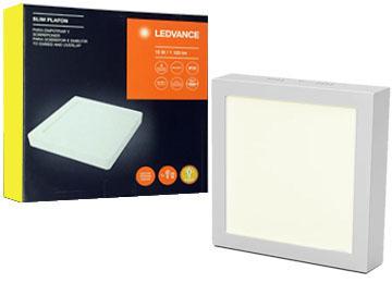 CUADRADO PLAFON LU SLIM OSRAM 15W LEDVANCE LED roWdBxQCe