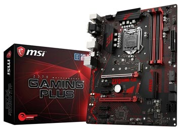 MOTHER MSI Z370 GAMING PLUS VGA DVI-D DISPLAYPORT USB 3.1 DDR4 1151 SOLO OCTAVA Y NOVENA GENERACION