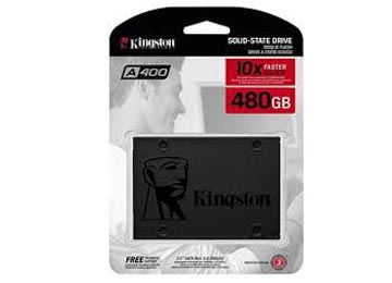 DISCO RIGIDO SOLIDO SSD 480GB 2.5 SATA III KINGSTON A400