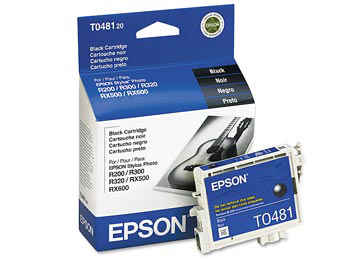 CARTUCHO EPSON T048120 NEGRO 13ML STYLUS PHOTO R200 R220 R300 300M RX500 - OUTLET - VENCIDO