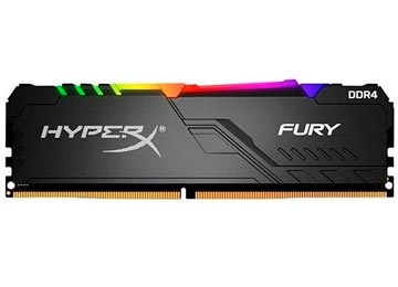 MEMORIA DDR4 16GB 2666MHZ 1.2V CL16 DESKTOP KINGSTON HYPERX FURY RGB