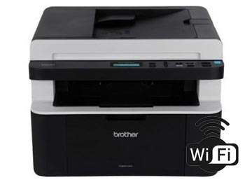 IMPRESORA BROTHER DCP-1617NW MONOCROMATICA MULTIFUNCION LASER WIFI USA TONER TN-1060