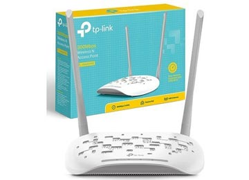 ACCESS POINT TP-LINK TL-WA801ND WIFI 2.4GHZ 5DBI 300MBPS 2 ANTENAS INTERCAMBIABLES POE PASIVO