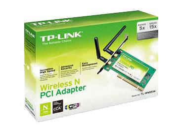 PLACA DE RED PCI TP-LINK TL-WN851ND 2.4GHZ 300MBPS INCLUYE CHAPA BAJO PERFIL