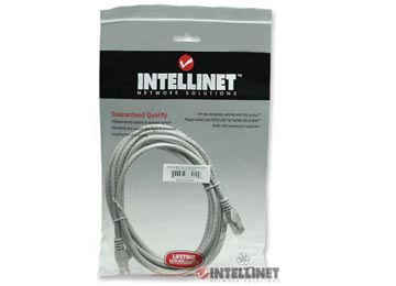 CABLE DE RED 1 MTS CAT6 INTELLINET