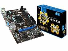 MOTHER MSI H81M-E33 DDR3 1150