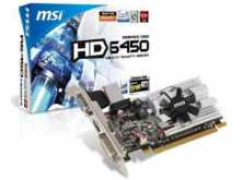 PLACA DE VIDEO MSI ATI HD6450 R6450 1GB DDR3 HDMI
