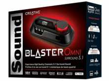 PLACA DE SONIDO USB CREATIVE SOUND BLASTER OMNI SURROUND 5.1