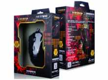MOUSE NETMAK NM-RAZE ULTRA GAMER 2400DPI RETROILUMINADO 6 BOTONES