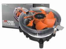COOLER NETMAK NM-K1150 INTEL 1150 775 1151 1155 1156 AMD AM2 AM2+ AM3