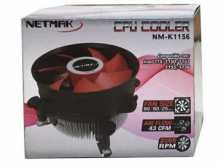 COOLER NETMAK NM-K1156 INTEL 1156 1150 1151 1155 775