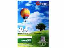 PAPEL GLOBAL GLOSSY 20 HOJAS A4 180GRS