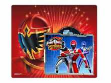 PAD MOUSE CIRKUIT PLANET POWER RANGERS