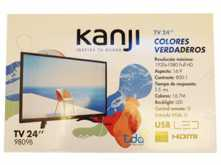 MONITOR TV KANJI 24 LED VGA HDMI TDA USB 800:1 1920X1080 16:9 25MS FULLHD CONTROL REMOTO