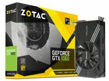 PLACA DE VIDEO ZOTAC GTX1060 6GB DDR5