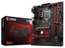 MOTHER MSI Z370 GAMING PLUS VGA DVI-D DISPLAYPORT USB 3.1 1151 OCTAVA GENERACION