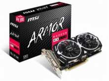 PLACA DE VIDEO MSI RX570 8GB DDR5 ARMOR