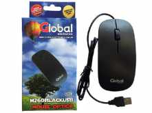 MOUSE GLOBAL M260 USB NEGRO