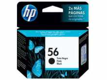 CARTUCHO HP 56 C6656AL NEGRO 19.5ML DESKJET 450 5150 5550 5551 HP PHOTOSMART 100 120 230 7150 7350 7550 1210 1315 2175 - OUTLET - VENCIDO