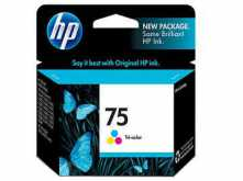 CARTUCHO HP 75 COLOR 5.5ML DESKJET D4260 PHOTOSMART C4280 C5280 D5360 OFFICEJET J5780 - OUTLET - VENCIDO
