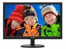 MONITOR PHILIPS 21.5 VGA HDMI 1920X1080 60HZ LED 5MS 54.6CM SMARTCONTRAST 10.000.000:1 NEGRO