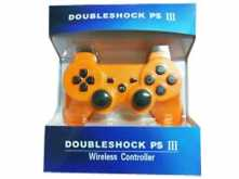 JOYSTICK DOUBLE SHOCK PS3 PLAYSTATION 3 BLUETOOTH - NO DICE SONY - NARANJA