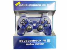 JOYSTICK DOUBLE SHOCK PS3 PLAYSTATION 3 BLUETOOTH - NO DICE SONY - AZUL
