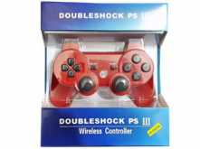JOYSTICK DOUBLE SHOCK PS3 PLAYSTATION 3 BLUETOOTH - NO DICE SONY - ROJO