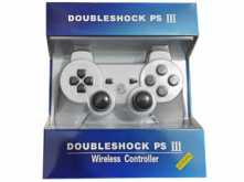 JOYSTICK DOUBLE SHOCK PS3 PLAYSTATION 3 BLUETOOTH - NO DICE SONY - BLANCO