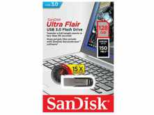 PENDRIVE 128GB SANDISK CRUZER ULTRA FLAIR 3.0
