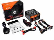 FUENTE LNZ 850W MODULAR 12V 46A COOLER 140MM INCLUYE CABLE POWER