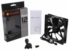 COOLER TURBINA 120X120MM THERMALTAKE PURE 12 CONECTOR 3 PINES + ADAPTADOR A MOLEX