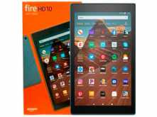 TABLET 10.1 AMAZON KINDLE FIRE HD 10 OCTACORE 2GHZ 2GB 32GB 1920X1200 WIFI DUAL BAND ALEXA EXPANDIBLE MICROSD HASTA 512 AZUL