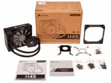 COOLER CORSAIR H45 120MM WATER COOLER 1150 1151 1155 1156 2011 2066 AMD AM3 AM2 AM4