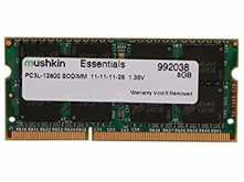 MEMORIA SODIMM DDR3-L 8GB 1600MHZ 1.35V LOW POWER NOTEBOOK MUSHKIN ESSENTIALS PCL12800 LATENCIA 11-11-11-28