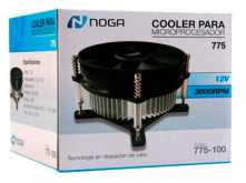 COOLER NOGANET 775-100 INTEL SOCKET 775 3000RPM CONECTOR 4 PINES