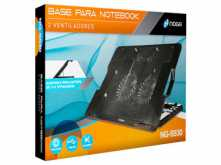 BASE PARA NOTEBOOK NOGANET NG-S530 2 COOLER C/INCLINACION