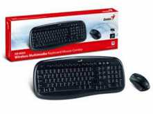 KIT TECLADO + MOUSE GENIUS KB-8000 INALAMBRICO
