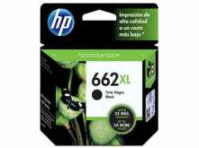 CARTUCHO HP 662 XL NEGRO 6.5ML 1015 1515 1516 2515 2516 2545 2546 2645 2646 3515 3516 3545 3546 4645 4646