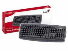 TECLADO GENIUS KB-110X PS2 SP NEGRO