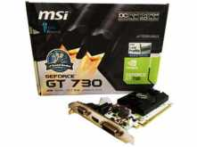 PLACA DE VIDEO MSI GT730 1GB DDR5