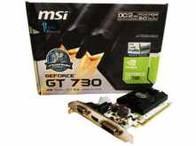 PLACA DE VIDEO MSI GT730 2GB DDR5 HDMI
