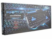 TECLADO NETMAK NM-RAPTOR GAMER MULTIMEDIA USB