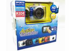 CAMARA ACTION CAMCORDER HD 720 SUMERGIBLE DEPORTES REPLICA