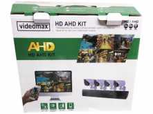 KIT DVR CCTV IPOK BK-402 4CH + 4 CAM + 4 CABLES + 2 TRANSFORMADORES + 1 CABLE SPLITTER CORRIENTE HDMI